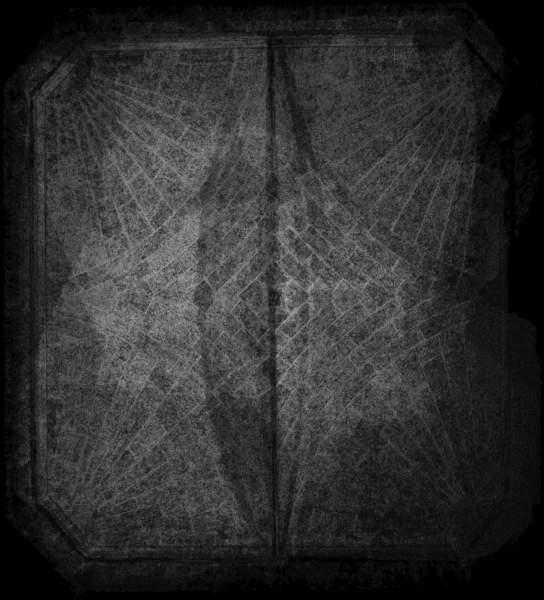 Carte de recouvrement (Cptr) de la voûte de vestibule de musée Calvet à Avignon