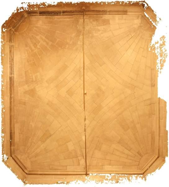 Orthophotographie de la voûte de vestibule de musée Calvet à Avignon
