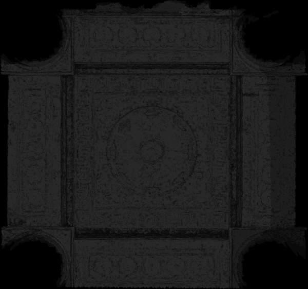Carte de recouvrement (Cptr) de la voûte de porche de église Saint-Sulpice à Paris