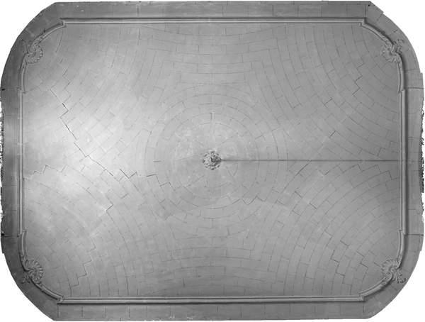 Orthophotographie de la voûte de grand salon de château à Barbentane
