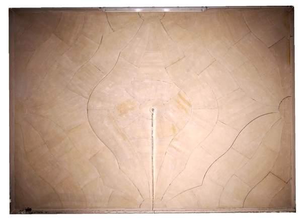 Orthophotographie de la voûte de sacristie de la chapelle de Hôtel-Dieu à Carpentras