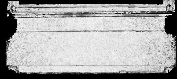 Carte de corrélation de la voûte de tribune de la chapelle de Hôtel-Dieu à Carpentras