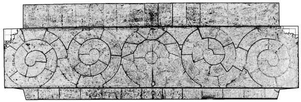 Orthophotographie avec extraction automatique des contours de la voûte de tribune de la chapelle de Hôtel-Dieu à Carpentras