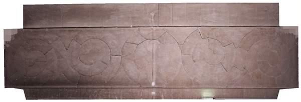 Orthophotographie de la voûte de tribune de la chapelle de Hôtel-Dieu à Carpentras