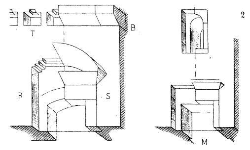 Incrustations décoratives de la renaissance italienne d'après Histoire de l'Architecture de Choisy