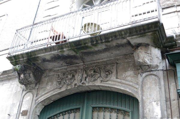 Balcon du 48 Grand'Rue à Poitiers