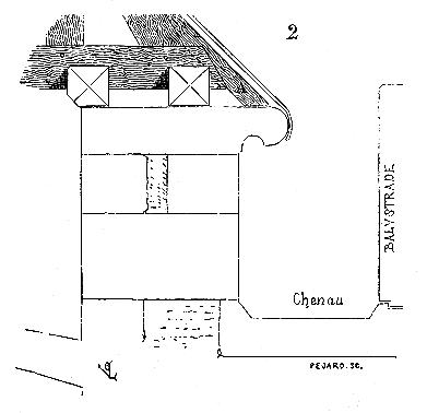 Chéneau du XIIIe siècle d'après Viollet-le-Duc