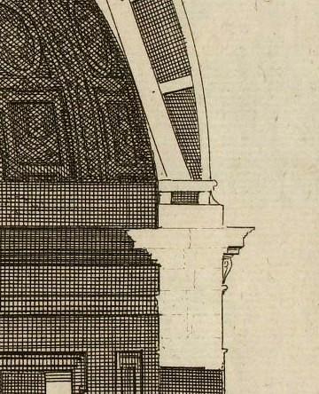 Eglise des religieuses de l'Assomption rue St-Honoré d'après Marot 1727