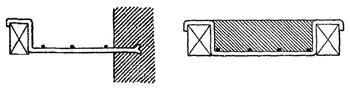 Bandes de trémies et fentons pour âtre de cheminée et planchers bois