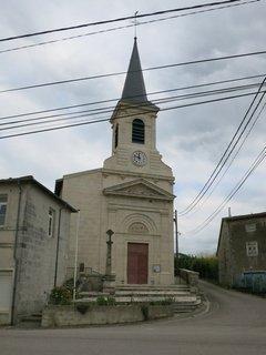 Église Saint-Etienne à Méligny-le-Petit dans la Meuse