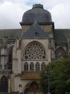 Dome en charpente bois de l'église Saint-Jacques à Dieppe