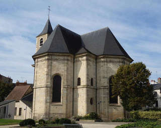 Chevet de l'église Saint-Pierre de Nevers