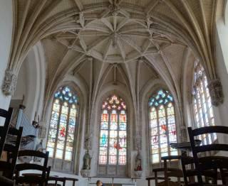 Réty – Église Saint-Martin - voûte du choeur